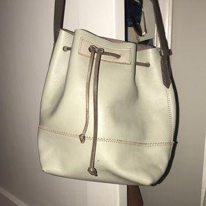 J. Crew Leather Bucket Bag